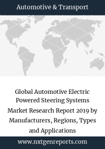 Global Automotive Electric Powered Steering Systems Market Research Report 2019 by Manufacturers, Regions, Types and Applications