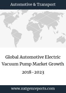 Global Automotive Electric Vacuum Pump Market Growth 2018-2023