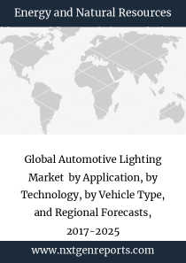 Global Automotive Lighting Market  by Application, by Technology, by Vehicle Type, and Regional Forecasts, 2017-2025