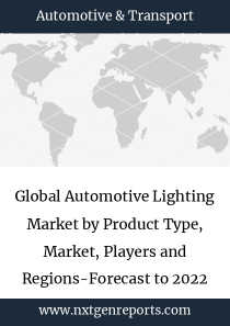 Global Automotive Lighting Market by Product Type, Market, Players and Regions-Forecast to 2022