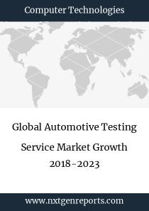 Global Automotive Testing Service Market Growth 2018-2023