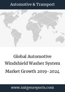Global Automotive Windshield Washer System Market Growth 2019-2024