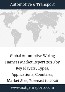 Global Automotive Wiring Harness Market Report 2020 by Key Players, Types, Applications, Countries, Market Size, Forecast to 2026