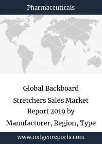 Global Backboard Stretchers Sales Market Report 2019 by Manufacturer, Region, Type and Application