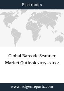 Global Barcode Scanner Market Outlook 2017-2022