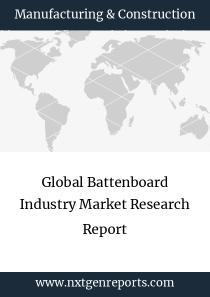 Global Battenboard Industry Market Research Report