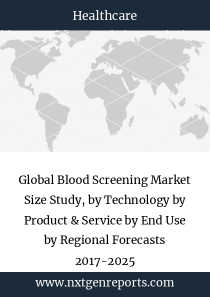Global Blood Screening Market Size Study, by Technology by Product & Service by End Use by Regional Forecasts 2017-2025