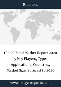 Global Bond Market Report 2020 by Key Players, Types, Applications, Countries, Market Size, Forecast to 2026