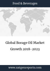 Global Borage Oil Market Growth 2018-2023