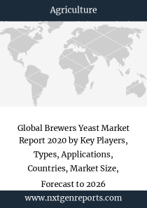 Global Brewers Yeast Market Report 2020 by Key Players, Types, Applications, Countries, Market Size, Forecast to 2026