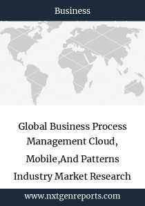 Global Business Process Management Cloud, Mobile,And Patterns Industry Market Research Report
