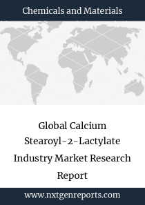 Global Calcium Stearoyl-2-Lactylate Industry Market Research Report