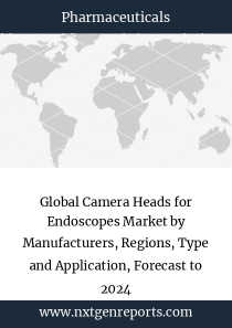 Global Camera Heads for Endoscopes Market by Manufacturers, Regions, Type and Application, Forecast to 2024
