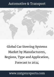 Global Car Steering Systems Market by Manufacturers, Regions, Type and Application, Forecast to 2024