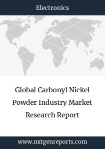 Global Carbonyl Nickel Powder Industry Market Research Report