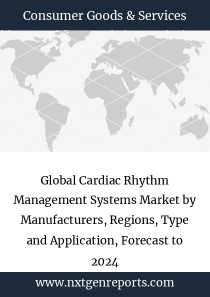 Global Cardiac Rhythm Management Systems Market by Manufacturers, Regions, Type and Application, Forecast to 2024
