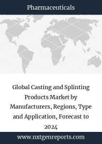 Global Casting and Splinting Products Market by Manufacturers, Regions, Type and Application, Forecast to 2024
