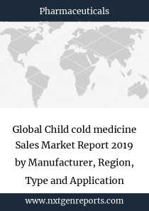 Global Child cold medicine Sales Market Report 2019 by Manufacturer, Region, Type and Application