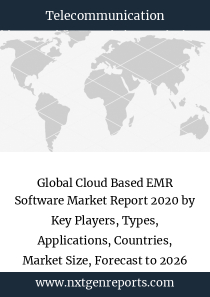 Global Cloud Based EMR Software Market Report 2020 by Key Players, Types, Applications, Countries, Market Size, Forecast to 2026