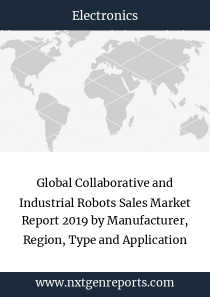 Global Collaborative and Industrial Robots Sales Market Report 2019 by Manufacturer, Region, Type and Application