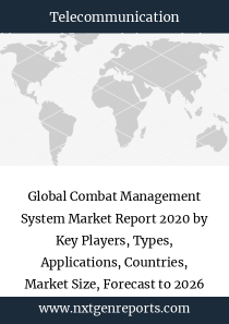 Global Combat Management System Market Report 2020 by Key Players, Types, Applications, Countries, Market Size, Forecast to 2026