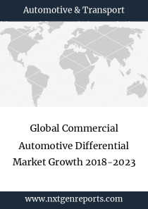 Global Commercial Automotive Differential Market Growth 2018-2023