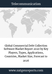 Global Commercial Debt Collection Software Market Report 2020 by Key Players, Types, Applications, Countries, Market Size, Forecast to 2026