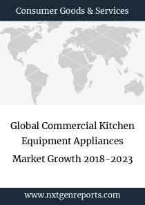 Global Commercial Kitchen Equipment Appliances Market Growth 2018-2023