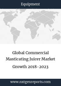 Global Commercial Masticating Juicer Market Growth 2018-2023