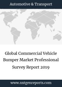 Global Commercial Vehicle Bumper Market Professional Survey Report 2019