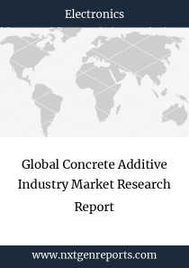 Global Concrete Additive Industry Market Research Report