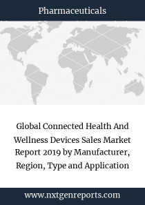 Global Connected Health And Wellness Devices Sales Market Report 2019 by Manufacturer, Region, Type and Application