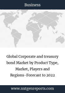 Global Corporate and treasury bond Market by Product Type, Market, Players and Regions-Forecast to 2022