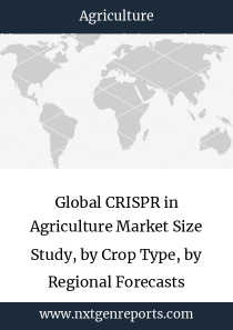 Global CRISPR in Agriculture Market Size Study, by Crop Type, by Regional Forecasts 2017-2025