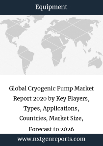 Global Cryogenic Pump Market Report 2020 by Key Players, Types, Applications, Countries, Market Size, Forecast to 2026