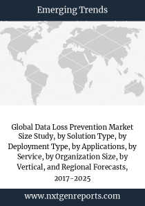 Global Data Loss Prevention Market Size Study, by Solution Type, by Deployment Type, by Applications, by Service, by Organization Size, by Vertical, and Regional Forecasts, 2017-2025