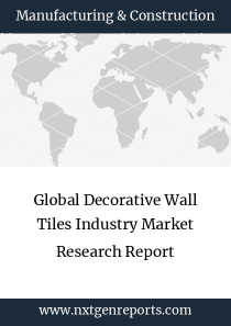 Global Decorative Wall Tiles Industry Market Research Report