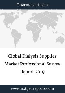 Global Dialysis Supplies Market Professional Survey Report 2019