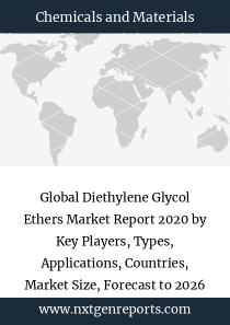 Global Diethylene Glycol Ethers Market Report 2020 by Key Players, Types, Applications, Countries, Market Size, Forecast to 2026