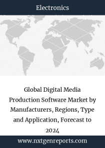 Global Digital Media Production Software Market by Manufacturers, Regions, Type and Application, Forecast to 2024