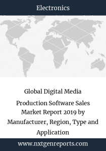 Global Digital Media Production Software Sales Market Report 2019 by Manufacturer, Region, Type and Application