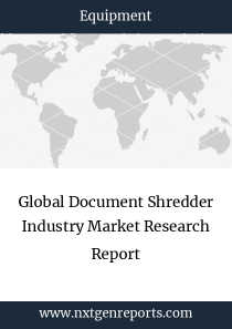 Global Document Shredder Industry Market Research Report