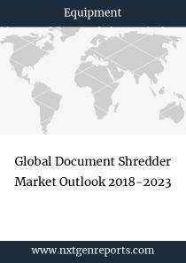 Global Document Shredder Market Outlook 2018-2023