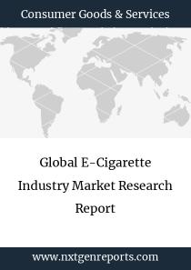 Global E-Cigarette Industry Market Research Report