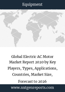 Global Electric AC Motor Market Report 2020 by Key Players, Types, Applications, Countries, Market Size, Forecast to 2026