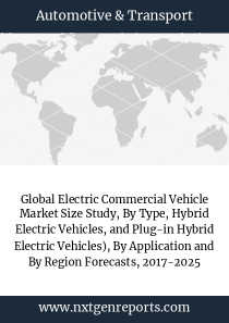 Global Electric Commercial Vehicle Market Size Study, By Type, Hybrid Electric Vehicles, and Plug-in Hybrid Electric Vehicles), By Application and By Region Forecasts, 2017-2025