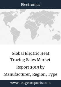 Global Electric Heat Tracing Sales Market Report 2019 by Manufacturer, Region, Type and Application