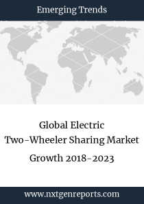 Global Electric Two-Wheeler Sharing Market Growth 2018-2023