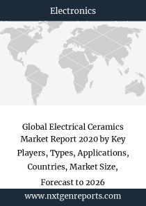 Global Electrical Ceramics Market Report 2020 by Key Players, Types, Applications, Countries, Market Size, Forecast to 2026