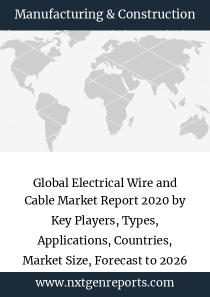 Global Electrical Wire and Cable Market Report 2020 by Key Players, Types, Applications, Countries, Market Size, Forecast to 2026